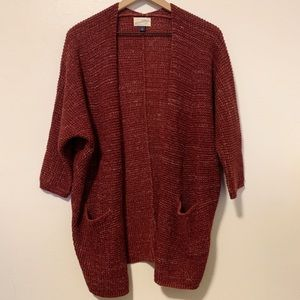 Universal Thread Maroon cardigan Women's XS